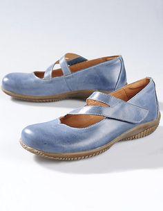 Deerberg Spangenschuhe Alisa jeansblau