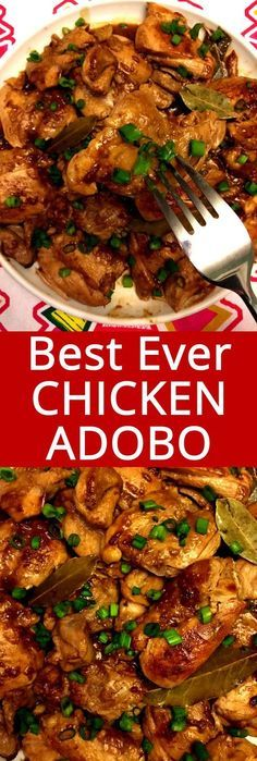I love chicken adobo! This is my favorite Filipino recipe and it tastes totally authentic! This is the only chicken adobo recipe you'll ever need! recipes chicken recipes crockpot recipes easy recipes for dinner recipes healthy food recipes Crock Pot Recipes, Slow Cooker Recipes, Cooking Recipes, Crockpot Dishes, Chicken Adobo Filipino, Chicken Adobo Crockpot, Filipino Food, Filipino Recipe For Chicken, Filipino Bread Pudding Recipe