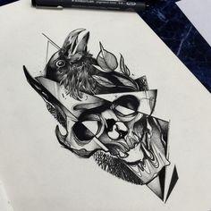 Maksim lopez illustrations pinterest tattoo tatting for Tattoo removal augusta ga