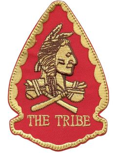 US navy seals THE TRIBE red team squadron embroidered morale seal hook patch