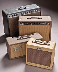 vintage Fender amps