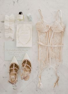 Wedding flat lay - Jemma Keech