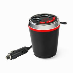 BangGood - Eachine1 Bluetooth Wireless FM Car Cigarette Lighter Dual USB Charger Socket Cup Holder Adapter Handfree call - AdoreWe.com