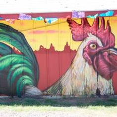 A mural painted near Roosevelt Row in downtown Phoenix.