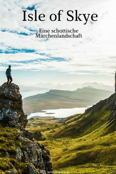 Isle of Skye - Fairytale Scotland Urlaubsguru.de - A stone& throw from the west coast of Scotland is the beautiful Isle of Skye or just Skye, wh - Europe Destinations, Europe Travel Tips, Travel Usa, Places To Travel, Places To See, Troll, West Coast Scotland, Reisen In Europa, Voyage Europe
