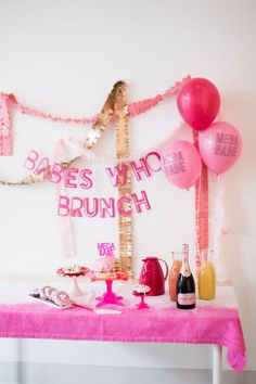 Babes who Brunch Bridal Shower Styled by @shopbracket  photography by @catdossett