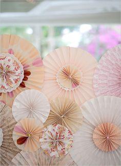 wedding pinwheels- Kids Table