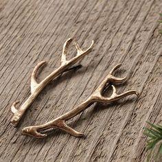 bronze antler hairpins
