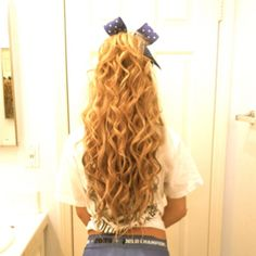 I want my hair to be this long...