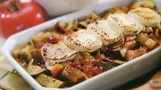 Блюда из кабачков и баклажанов - в духовке: рататуй и рулеты
