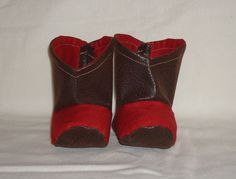 Infant / Baby Cowboy or Cowgirl Boots, can sell with or without the Headband. by RusticAttitude on Etsy