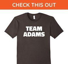 Mens Team Adams T Shirt - Last Name Family T-Shirt Medium Asphalt - Relatives and family shirts (*Amazon Partner-Link)