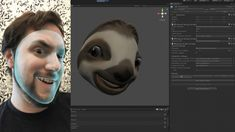 With the release of ARKit and the iPhone X paired with Unity, developers have an easy-to-use set of tools to create beautiful and expressive characters. Generative Art, Unity, Remote, Facial, Animation, Creative, Blog, Digital Art, Facial Treatment