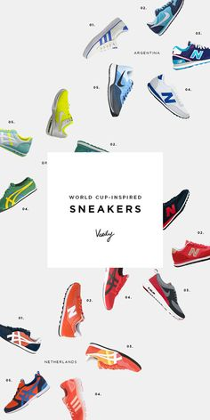 Sneakers Print Layout