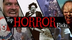 It's Halloween and that means one thing for us - horror flicks. Here is a ranking of our Top 20 Horror Flicks.