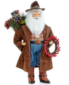 western/cowboy christmas table decor | Lane Christmas Decoration, Western Santa All The Trimmings Christmas ...