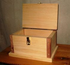 Free Wooden Box Plans - How to Build A Wooden Box
