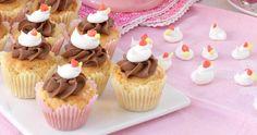 Muffins med vit choklad – recept