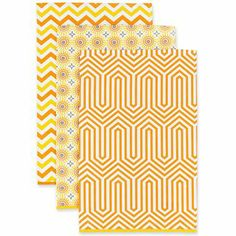 Happy Chic by Jonathan Adler Lola Set of 3 Kitchen Towels - jcpenney