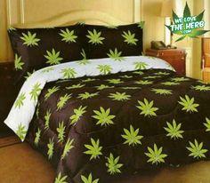 Marijuana Bed Duvet Cover