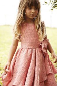 Sierra Julian Capella Peach Dress    $ 150.00