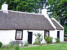 Classic Irish cottage