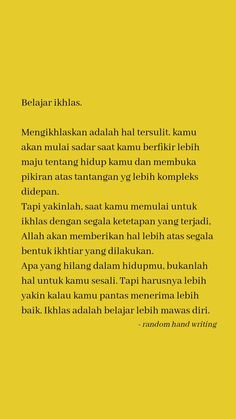 Reminder Quotes, Self Reminder, Text Quotes, Mood Quotes, Islamic Inspirational Quotes, Islamic Quotes, Life Quotes Wallpaper, Quotes Galau, Study Quotes