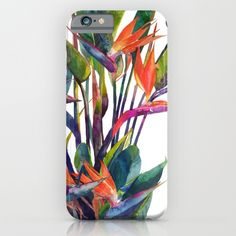 the bird of paradise iPhone case 6, iphone 5, iphone 4, all model, great design 64gb, 16gb, 128gb, best for birthday gift, Christmas gift, slim case, tough case, adventure case, power case
