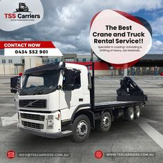 Capitalizing on the skills of our talented team, we are indulged in providing a range of Truck Rental Service to our customers.This service is carried out under the supervision of our experts using optimum grade tools and high-end technology. Our professionals check all the steps related to this service and execute it in an excellent manner. #hiab #hiabs #hiabhire #transportation #hiabtransport #sydney #portablecabins #delivery #containers #haibsinsydney #haibsservice Truck Mounted Crane, Portable Cabins, Transportation, Trucks, Good Things, Technology, Sydney, Delivery, Range
