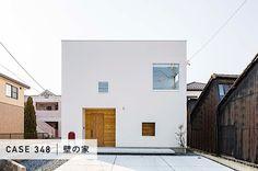 注文住宅なら建築設計事務所 フリーダムアーキテクツデザイン Facade Design, Exterior Design, House Design, Muji Home, Architecture 101, Box Houses, Japanese House, Facade House, Future House