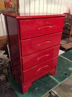 Matts Red  Cool dresser