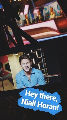 Niall in @theprojecttv's Instagram story (June 29th 2017)