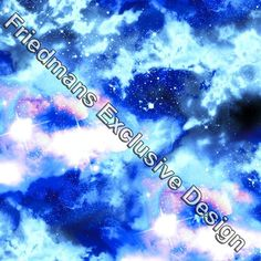 Rub712 milky way pastel printed lycra fabric printed for Pastel galaxy fabric
