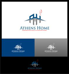 Real Estate Logo for AthensHome.com by artha_mara ᶤᵐᵍ