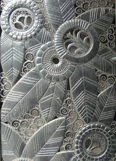 This is a fave art deco design of mine! Cast iron art deco entrance for Domus on Madison Ave. Graphisches Design, Art Deco Design, Pattern Design, Grill Design, Art Nouveau, Deco France, Art Et Architecture, Motif Art Deco, Bijoux Art Deco