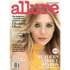 """#ElizabethOlsen está deusa na capa de junho da @Allure Magazine. Ela é a #Olsen que não é um gêmeo e ainda atuou em """"Capitão América: Guerra Civil""""! • • • • • • • • • • • • • • • • • • • • • • • • • • • • •  #ElizabethOlsen this goddess on the cover of June of @Allure Magazine. She is the #Olsen that not is a twin and even starred in """"Captain America: Civil War""""!"""
