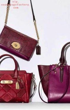 For her: a striking patchwork of exotic textures and smooth leathers on the perfect statement-making bag to gift this holiday season. Luxury Bags, Luxury Handbags, Fashion Handbags, Fashion Bags, Women's Fashion, Coach Handbags, Coach Purses, Purses And Handbags, Coach Bags