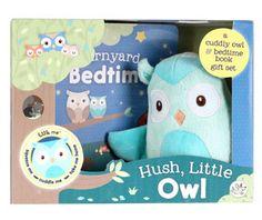 Hush Little Owl, Plush Toy & Book Little Owl, Hush Hush, Plush, Toys, Children, Activity Toys, Young Children, Boys, Clearance Toys