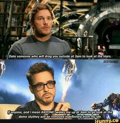 Difference in opinion. Star lord vs Iron man Types Of Laughs, Types Of Kisses, Robert Downey Jr Meme, Avengers Memes, Marvel Memes, Marvel Avengers, Marvel Dc Comics, Chris Pratt Funny, Different Types Of People