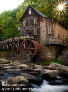 Glade Creek Grist Mill, USA.  Similar to setting in Tug of War, except for the lack of red coloring