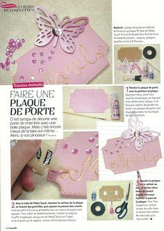Gazelle magazine mars avril 2011 plaque de porte