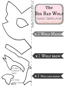 Freshly Completed: The Big Bad Wolf Costume Tutorial | Costumes and ...