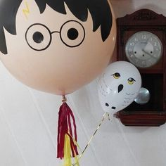 Harry Potter 2.0 ✨#inglobspecials . . . . #globos #bigballoons #diseñoespecial #hedwig #harrypotterballoon #harrypotter