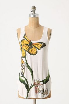 Monarch Butterfly Tank From Anthropologie.