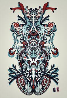 Skull Board design by RemiisMeltingDots.deviantart.com on @DeviantArt