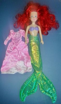The Little Mermaid Ariel Barbie. I loved that her feet were flat and not tippy-toed like regular Barbies. Plus, she came with 2 mer-babies