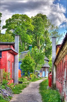 Christiania, also known as Freetown Christiania is a self-proclaimed autonomous neighbourhood of about 850 residents, covering 34 hectares in the borough of Christianshavn in the Danish capital Copenhagen.