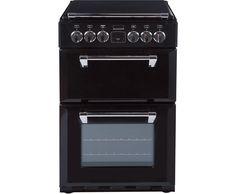 Stoves Mini Range RICHMOND550E Electric Cooker with Ceramic Hob - Black