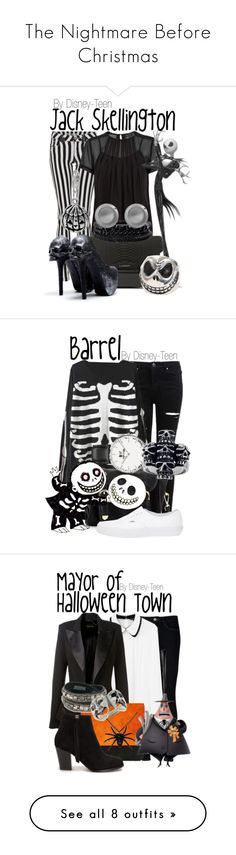 """""""The Nightmare Before Christmas"""" by disney-teen ❤ liked on Polyvore featuring Quiz, Marc by Marc Jacobs, Givenchy, Spring Street, Karen Kane, women's clothing, women, female, woman and misses"""