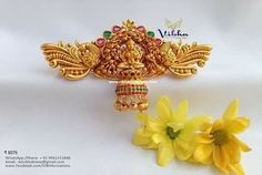 Vibha Creations and Collections ~ South India Jewels Antique Jewelry, Gold Jewelry, Gold Earrings Designs, South India, Temple Jewellery, Designer Earrings, Indian Jewelry, Necklace Set, Happy Shopping